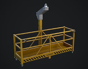 Window Cleaning Platform 3D model