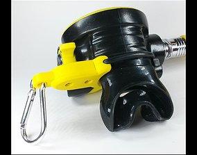 3D print model SCUBA - COMPLEX - Octopus O-RING Holder