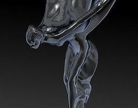 Rolls Royce hood ornament 3D SCAN Spirit of Ecstasy 1