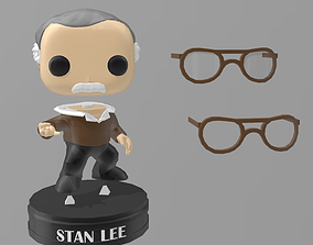 Stan Lee Funko Pop 3D print model