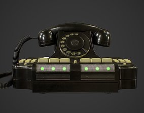 3D model Soviet Telephone KD-6