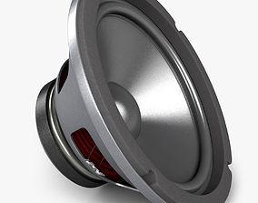 3D Realistic Audio Speaker