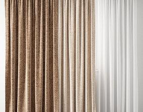 Curtain 129 3D model