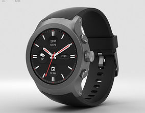 LG Watch Sport Titanium 3D