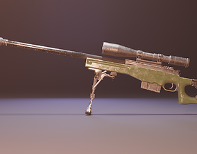 3D longrangeweapon AWM - Arctic Warfare Magnum