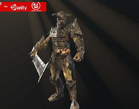 3D model Ork fighter