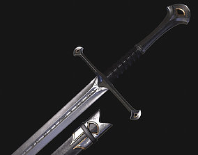 Anduril Flame of the West 3D asset realtime