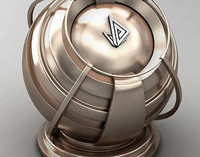 3D VRAY SHADER---METAL---Virenium