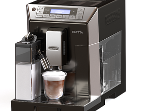 Delonghi Cappuccino Maker - ECAM45760S 3D model