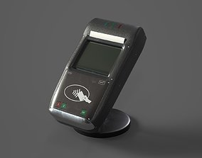3D model Contactless Payment Terminal