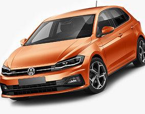 3D Volkswagen Polo 2018 R-line