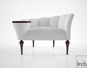 luxury 3D Linds Furniture Allan Occasional Chair