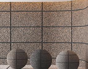 Hemase Mat 03 - Exposed Aggregate Concrete - 3 3D model