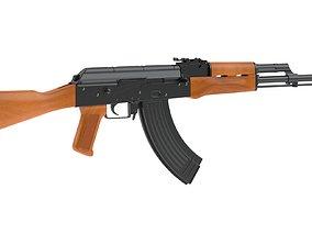 AKM Assault Rifle army 3D