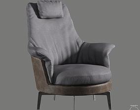 3D model Guscioalto Light Armchair