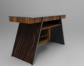 bench 3D model Designer Work Desk