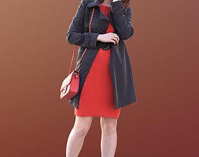 Svenja 10521 - Standing Outdoor Woman 3D asset