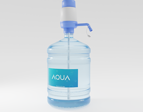 3D Two Dispenser Water Bottle with pump