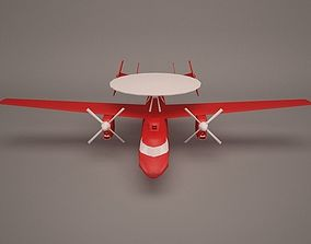 bomber Military Aircraft 3D model
