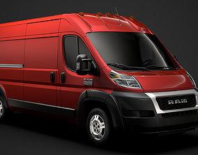 Ram Promaster Cargo 3500 HR 159WB 2020 3D model