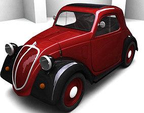 Fiat Topolino 1946 drive 3D model