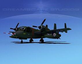 3D Grumman OV-1D Mohawk V02