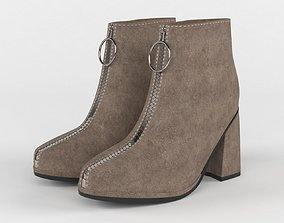 Women ankle boots 3D