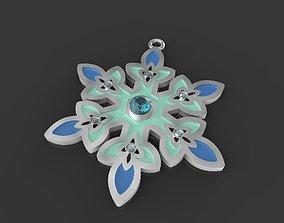 3D printable model Disneys Frozen Snowflake