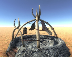 3D asset Boneskin Hut 4