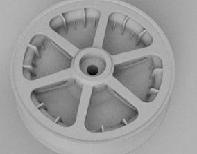 1-5th scale Messerschmitt BF-109 wheel - 3D print model 1