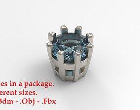 Jewelry 3D print model 7