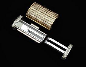 3D print model Jewelry Accessories Diamond Bracelet Lock