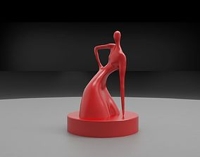 Sculpture Woman 3D print model woman