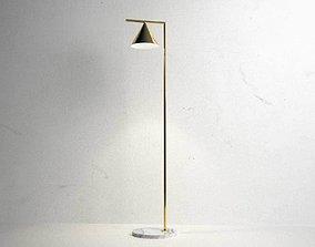 style 3D Captain Flint Floor Lamp
