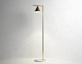 Captain Flint Floor Lamp 3D