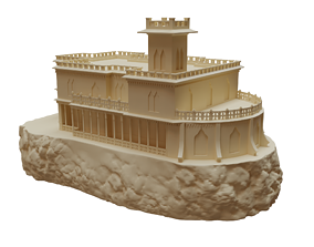 3d model of Castillo Forga Castle For 3d