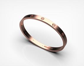 Bracelet Love 3D printable model rolex