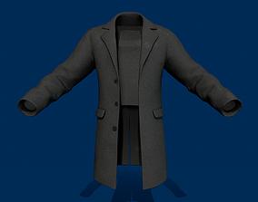 Coat 1 3D model game-ready