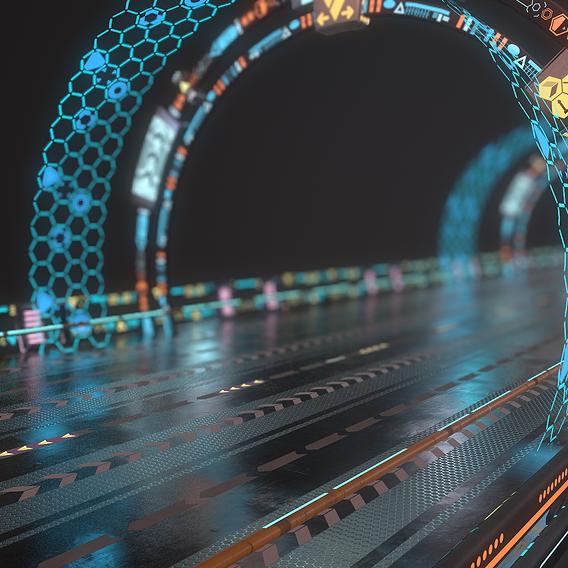 Sci-fi highway