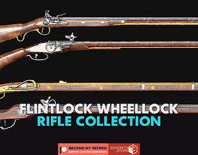 3D Weapon - Flintlock Wheellock Rifle Pack