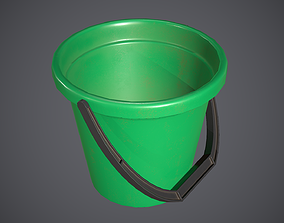 Bucket Plastic 3D model