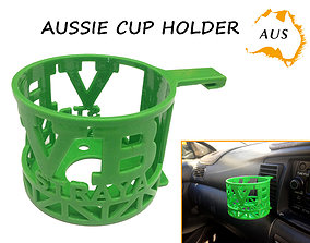 3D printable model Aussie Car Cup Holder