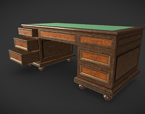 Office Table 3D asset realtime