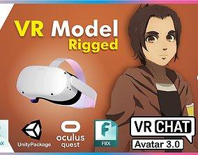 3D model Gabi AOT VRChat Oculus Quest