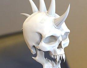 teeth skull 3d model