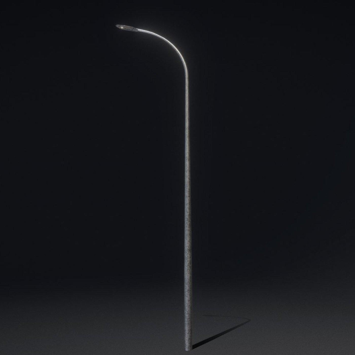Sci-Fi Street Light 14 version 13 6m with pole 1  Blender-2.90.1