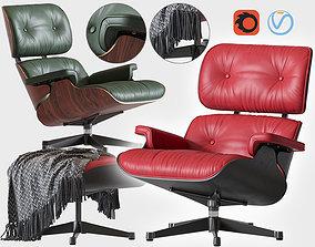 lobby 3D Eames Lounge Chair