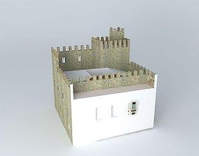 Castle La Bisbal 3D