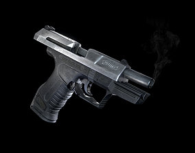 Walther P99 Titanium Coated 3D model