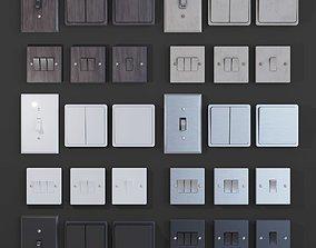 3D asset light switches PBR
